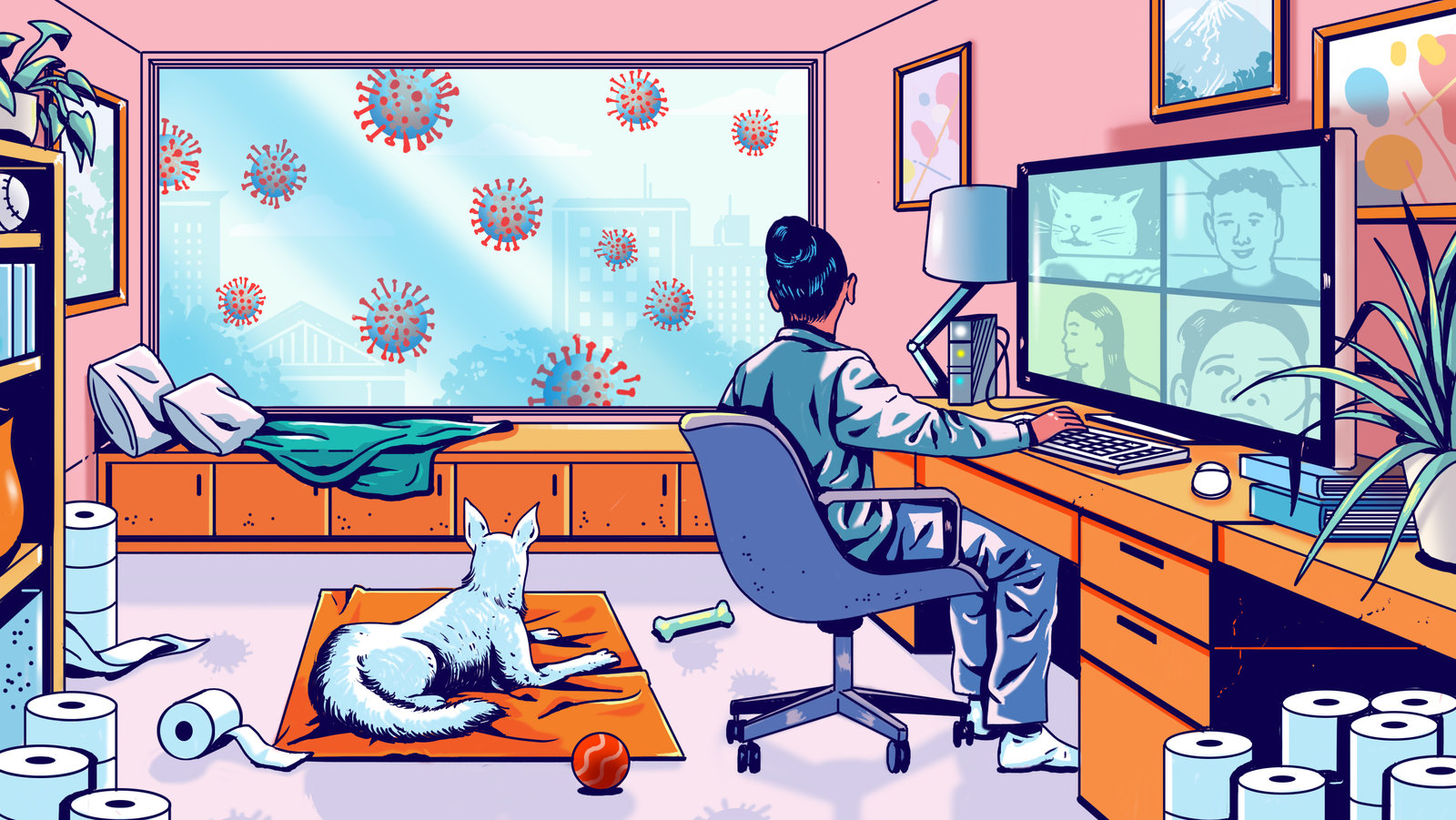 How Corona Virus Pandemic has Made Work From Home Miserable For The Employees